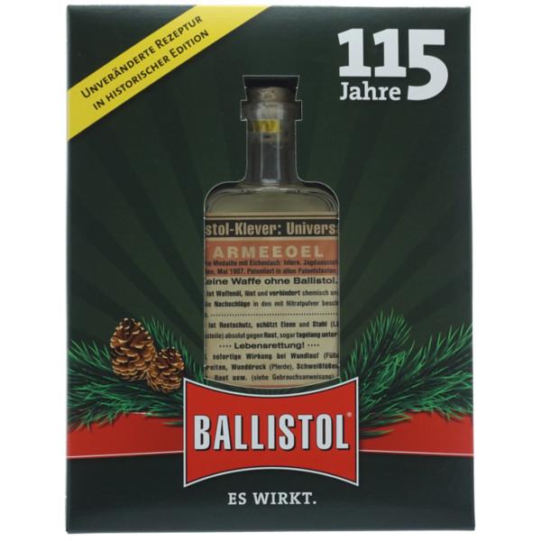 Ballistol Universalöl Nostalgie Glasflasche in der Geschenkbox