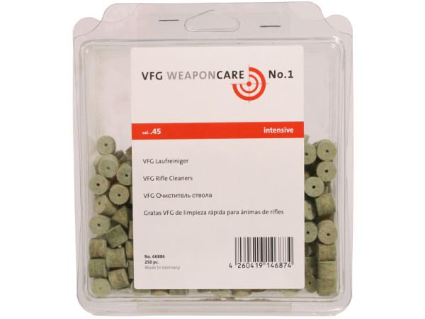 VFG Laufreiniger Intensive Kal. .45 / 250 St. Box