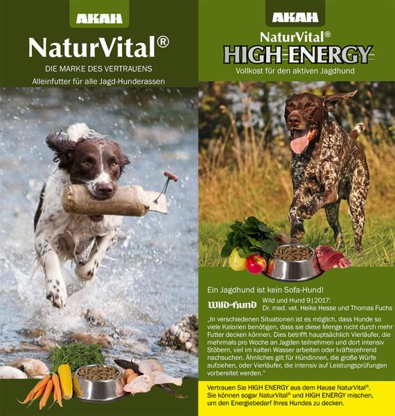 AKAH NaturVital® / HIGH ENERGY Flyer
