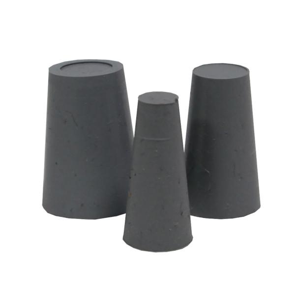 Ballistol Gummi-Korken Set - 3 Stück zum Verschließen von Läufen und Schalldämpfern