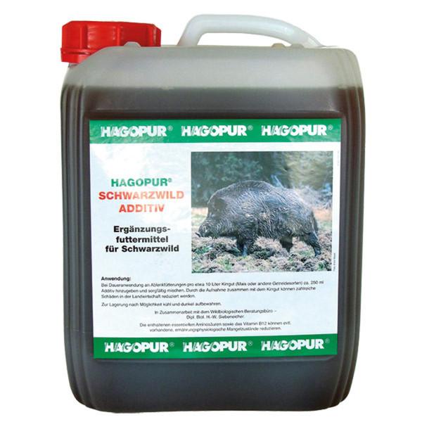 Hagopur Schwarzwild Additiv - umweltneutral und giftfrei - 5 Liter Kanister