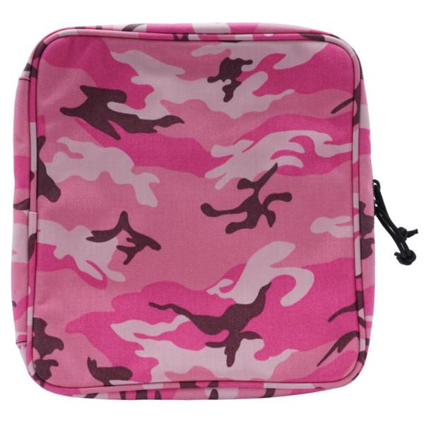 Tasche für Waffenpflegeprodukte PINK CAMOUFLAGE ca. 250 x 290 mm