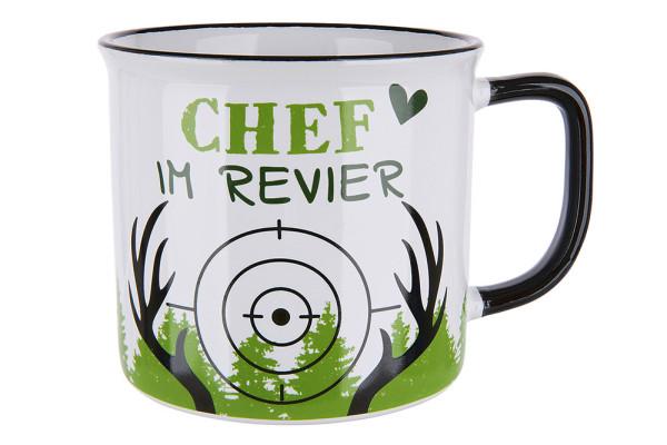"""Tasse """"Chef im Revier"""""""
