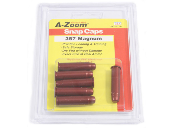A-Zoom Pufferpatrone Kal. .357 Magnum (6er Packung)