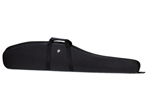 Gewehrfutteral aus Nylon 121cm mit Schaumfütterung schwarz