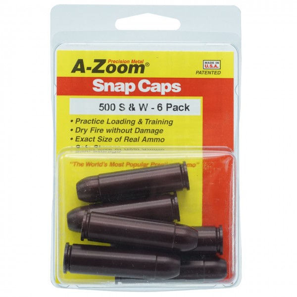 A-Zoom Pufferpatrone Kal. .500 S&W (6er Packung)
