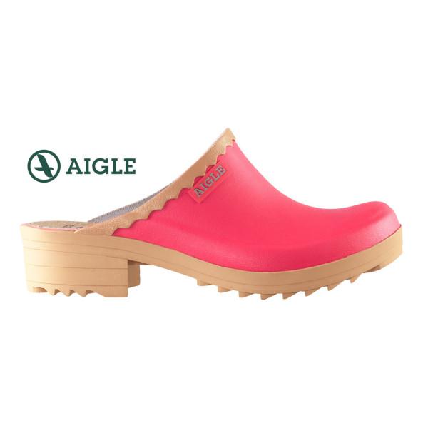 AIGLE VICTORINE Damen-Clogs in bubblegum