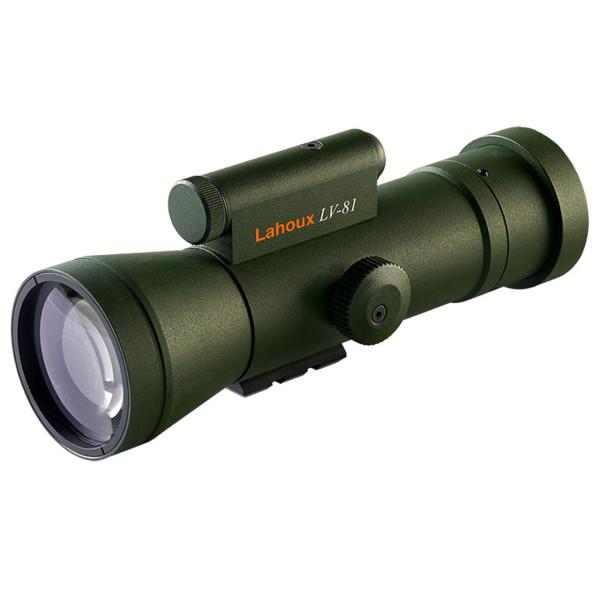 LAHOUX LV81 Standard+ Nachtsichtvorsatzgerät Photonis Gen 2+ (XX0041C) FOM min. 1400