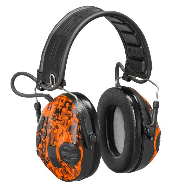 3M Gehörschutz Peltor SportTac in Camo Orange