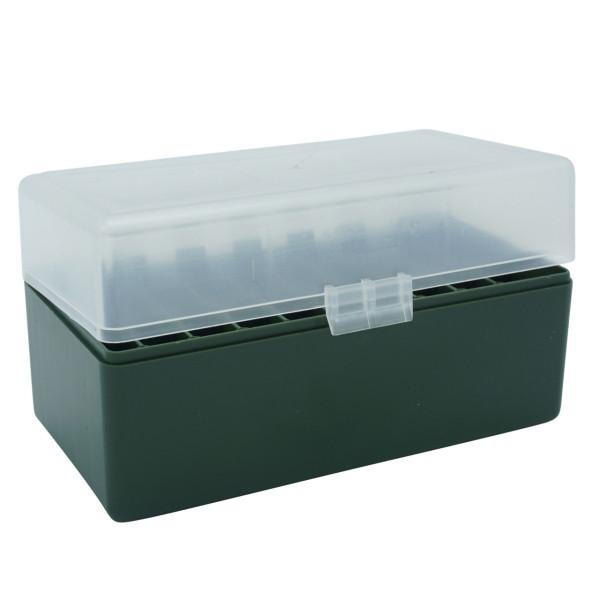 Patronenbox mit Klappdeckel Kaliber .243 - .308 - 50 St.