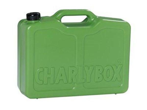 Charlybox® - mobiler Futternapf und Wasserspender