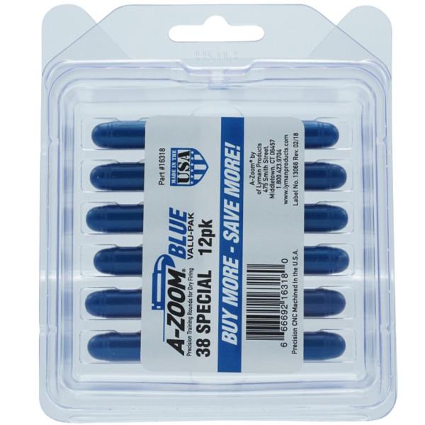 A-Zoom Pufferpatrone BLUE für Revolver