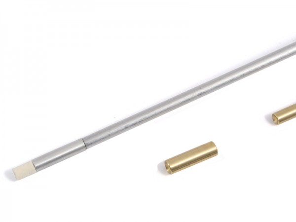 Ladestock für Pistolen mit Filzadapter Kal. .31 - .50