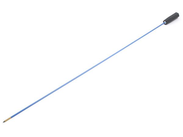 Federstahl-Putzstock Langwaffe dia. 5 mm mit Kunststoffgriff
