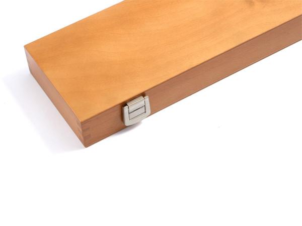 Holzkiste mit Einlage 34,5 x 11 cm