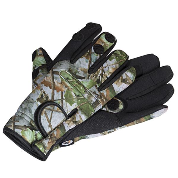 NGT Neopren Handschuh realtree