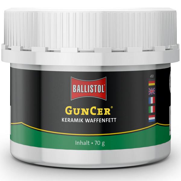 Ballistol GunCer Waffenfett mit Keramik-Additiv - 70g