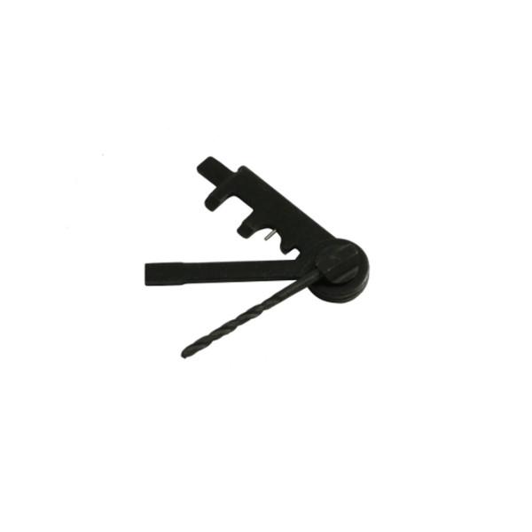 """3-teiliges Multifunktions-Werkzeug aus brüniertem Stahl """"HK-15"""""""