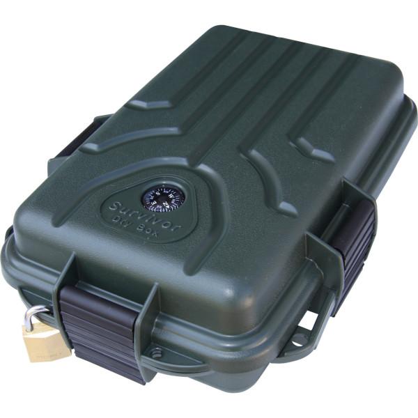 MTM Survivor Dry Box klein in grün S1072-11