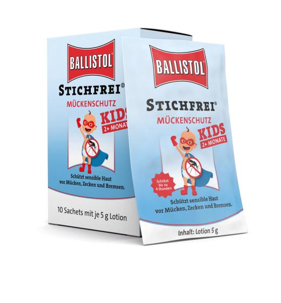 Ballistol Stichfrei Kids Lotion Sachet-Box