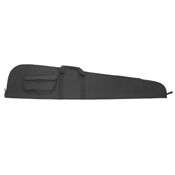 Büchsenfutteral 125cm aus Nylon mit Seitentasche - schwarz
