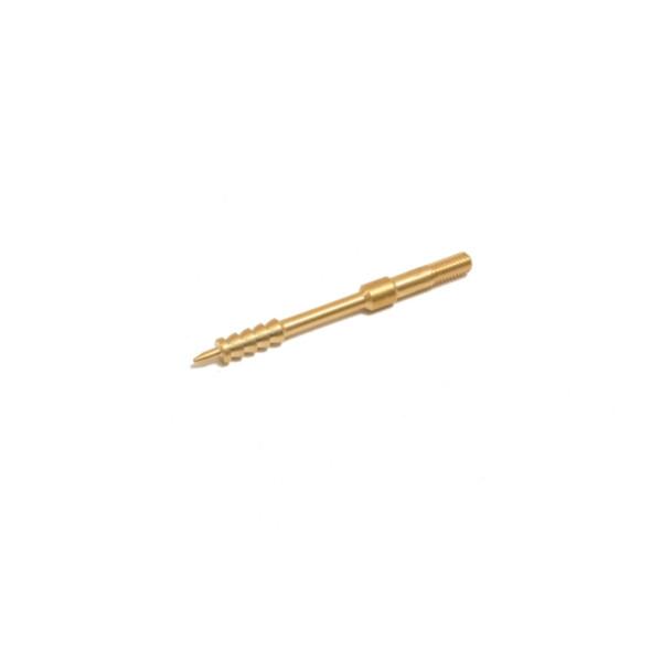 Patchhalter Kaliber .27 / 6,8 mm mit M4-Außengewinde mit EFH aus Messing