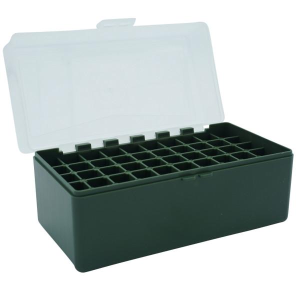 Patronenbox mit Klappdeckel Kaliber 6 mm / 6 mm PPC - 50 St.