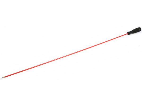 Putzstock Langwaffe 1-tlg dia. 5 mm mit Kunststoffgriff
