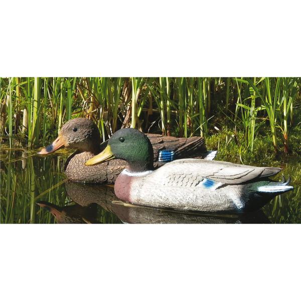 Lockvogel Ente aus Kunststoff