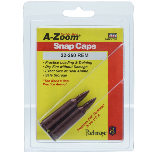 A-Zoom Pufferpatrone Kal. .22-250 Remington (2er Packung)