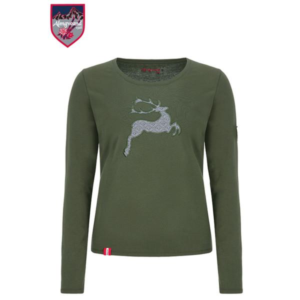 ALMGWAND Wildalm Damen Langarm-Shirt