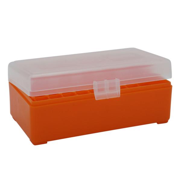 Patronenbox mit Klappdeckel Kaliber .357 - 50 St.