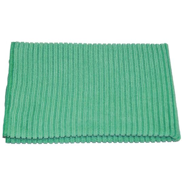 Ballistol Mikrofasertuch in grün zur Kunststoffreinigung - 40 x 40 cm