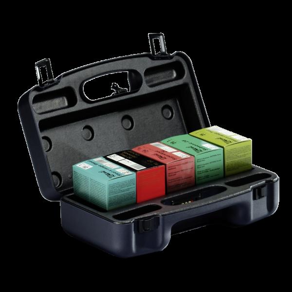 Patronenkoffer aus Kunststoff schwarz - 150 Patronen