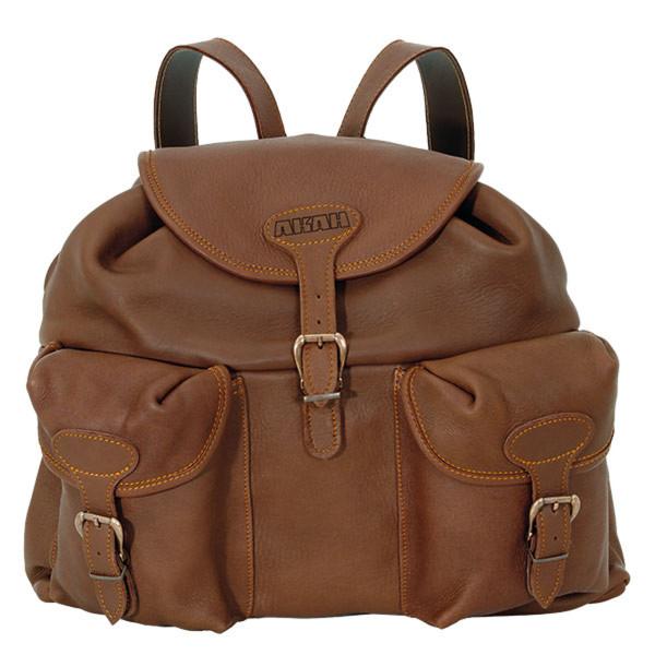 Rucksack aus Elchleder Klassisch - Unikat