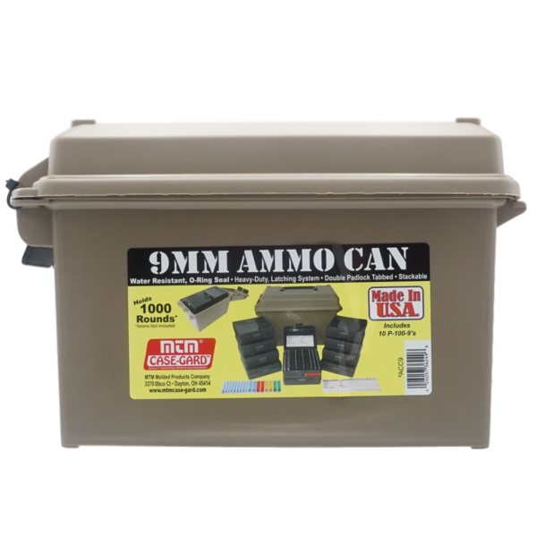 MTM Munitionskiste Ammo Can ACC9 grün