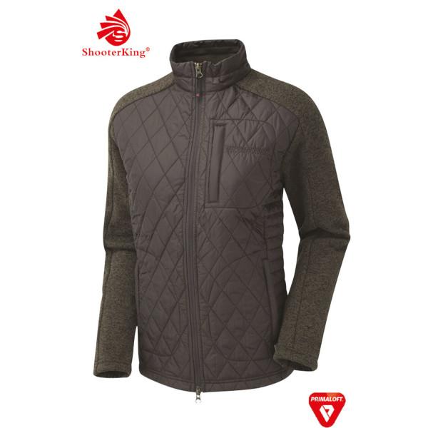 SHOOTERKING Fortem Primaloft Jacke für Damen in grün/braun