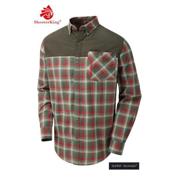 SHOOTERKING Castra Hemd für Herren aus Baumwolle
