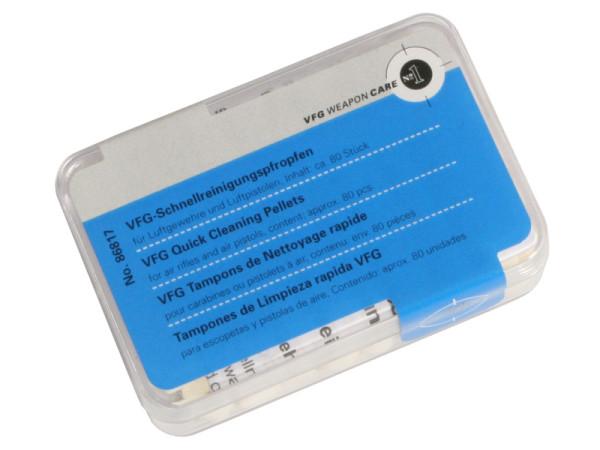 VFG Schnellreinigungspfropfen CO² + Luftdruck Kal. .20 / 80 St. Dose