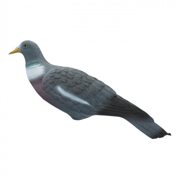 Lockvogel Taube aus Kunststoff