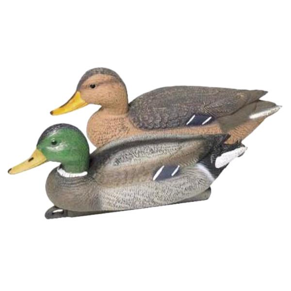 Lockvogel Ente aus Kunststoff - 40 cm