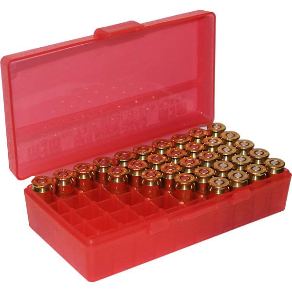 MTM Patronenbox mit Klappdeckel P50-45