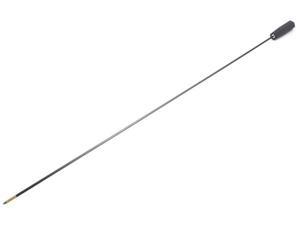 Carbon-Putzstock Langwaffe dia. 5 mm mit Kunststoffgriff kurze Version 800 mm