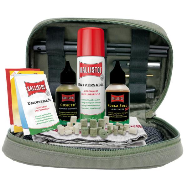 Ballistol Waffenreinigungsset für Kaliber .22, 7,62 mm & 9,3 mm