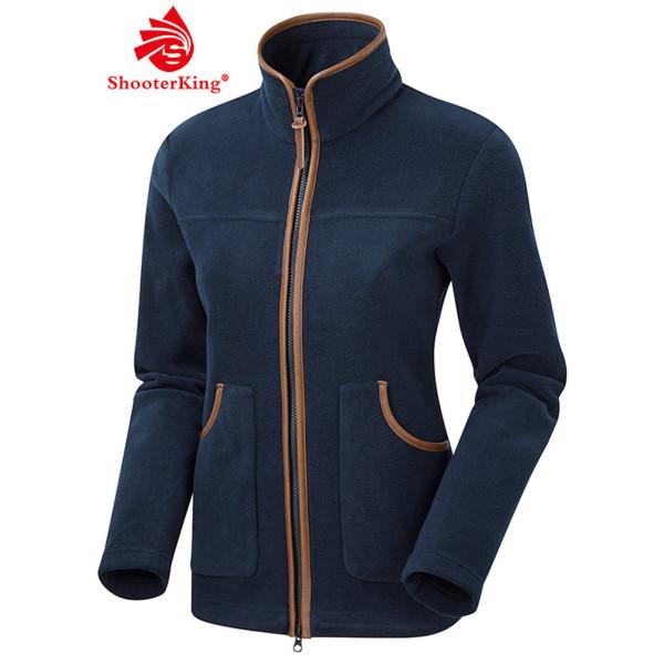 SHOOTERKING PERFORMANCE Damen Fleece Jacke in marineblau