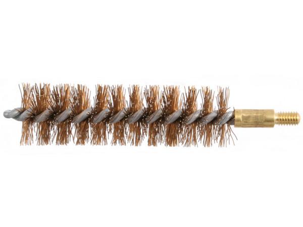Bronzebürste Kaliber 12,5 - 13 mm mit M4-Außengewinde