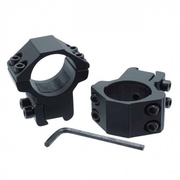 Aufschubmontage 25,4 mm 2-teilig für 11 mm Prismenschiene