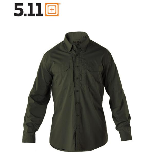 5.11 STRYKE SHIRT Langarmhemd tdu green