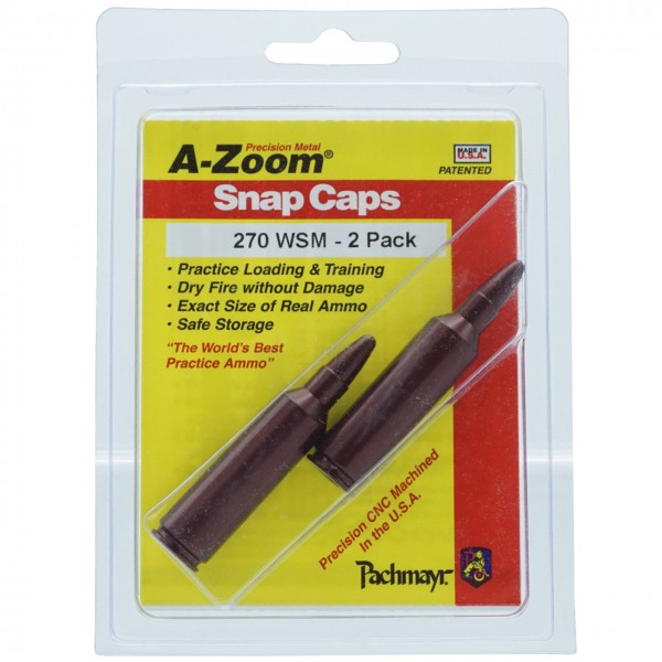 A-Zoom Pufferpatrone Kal. .270 WSM (2er Packung)