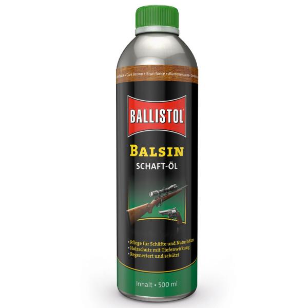 Balsin Schaftöl dunkelbraun 500 ml